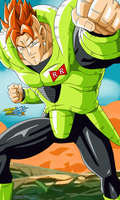 Dragon Ball Z - Android 16 by Miguele77