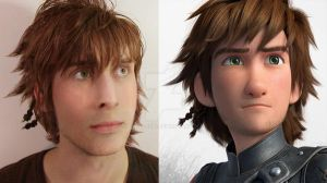 Harold - D2 (Hiccup - How to train your dragon 2) by CynShenzi
