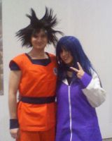 Me and Goku by xenya-cullen