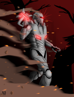 ROM Spaceknight Print by ConstantM0tion