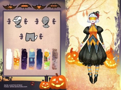 Dream Halloween -  Dress up game by Kairek
