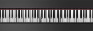 Piano Keys GUI by PureAV