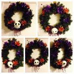 Nightmare holiday wreath by smallvillereject