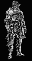 Dark souls Elite Knight by GoodOldRetro
