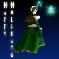 Happy Holidays Christmas Exchange by kittyocean