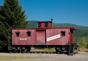 Bath and Hammondsport Caboose by funygirl38