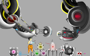 Portal Character sizes by ChassisWheatley