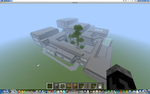 Patrick Henry School Minecraft Version by MatauReviewsArts