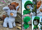 Baby pony OC plush - Able Tome by PinkuArt