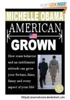 Michelle Obama's Book Cover by RedTusker