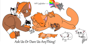 Ask Us or Dare Us AnyThing! (ID) by Ask-Mosspath