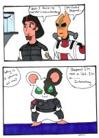 ME2 comic:Space Hamster by jojo-again