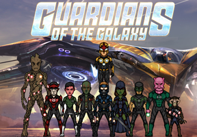 The Guardians of the Galaxy (New Earth) by Nova20X