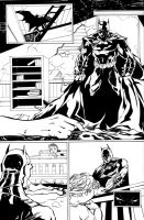Batman Narrative ink by dtor91