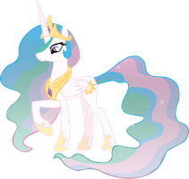 Princess Celestia by sircinnamon