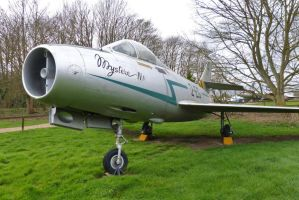Dassault Mystere - Norfolk and Suffolk Air Museum by PhilsPictures