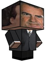 Cubee - Richard M. Nixon by 7ater
