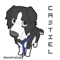 Castiel pixel icon by FourDirtyPaws