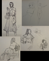 Figure Drawing 2012-10-24 by cmbarnes