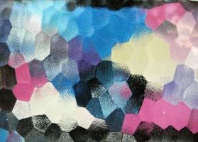 colored abstract texture by beckas
