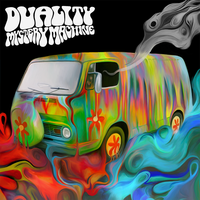 Duality - Mystery Machine album cover by NickyBarkla