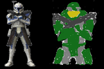 Captain Rex and Master Chief by Clonetroopsrule344