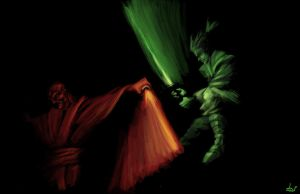 Jedi vs Sith by dinmoney
