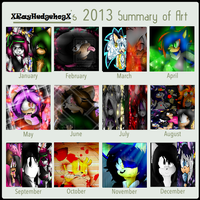 .:~ Ray's 2013 Art Summary~:. by X-UnKnownRituals