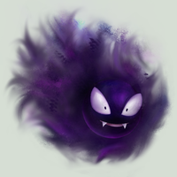 Gastly by conniekidd