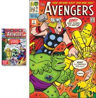 Covered - Avengers #1 by mengblom
