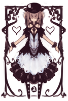 2 of Hearts by yagamisiro
