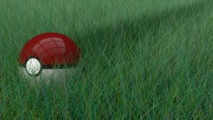 Pokeball in Grass by ExYNo2