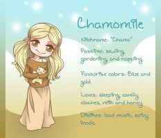 Chamomile - OC Dossier by Jellyfish-Station