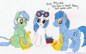 Ponyville's Band is a Failure by TwilightFlopple