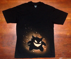 Gengar Halloween T-shirt by Kboomz