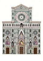 Florence Cathedral--Front by johannachambers