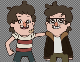 The original mystery twins by Toffee-bear