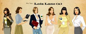 Des Taylor's Lois Lane studies. by DESPOP