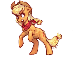 Applejack by johling