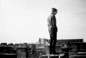 on the roof by musicandphotography
