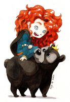 Merida Brave by Manawua
