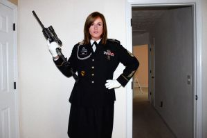 Hot girl with a rifle. by juliegrey2001