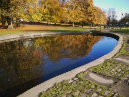 westburn park in Autumn by Blue-eyed-Kelpie