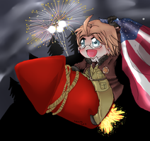 Happy 4th of July by cutecat54546