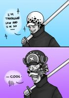 Trafalgar Law Is So Cool by mlle-annette