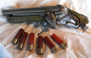 Gears of War Sawed-off shotgun by aBlindSquirrel