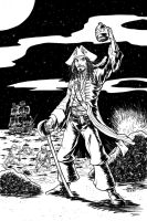 Capt. Jack Sparrow Commission by johnraygun