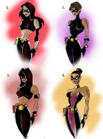 Character Designs Bruce Timm Style by JeremyHovan81