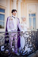 The royal couple by UsagiChiba-Selenit