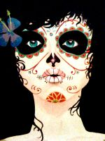 day of the dead by Marrow-Murder